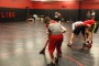 Many sports teams on campus are still practicing, despite the holiday break, including wrestling.