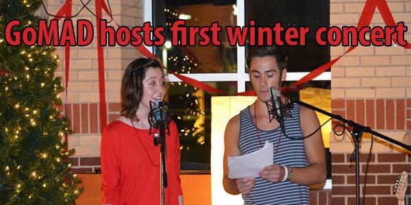 GoMAD hosts first winter concert