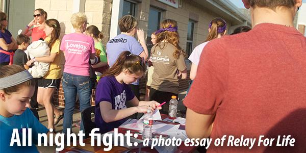 All night fight: a photo essay of Relay For Life
