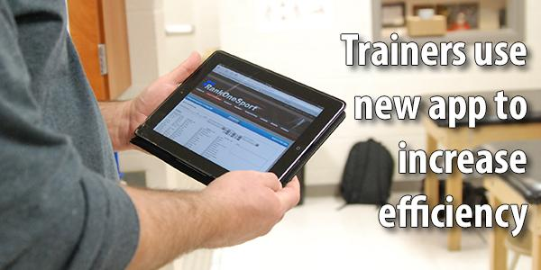 Trainers' new app increases efficency