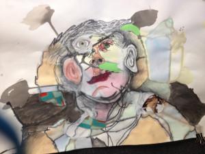 Freshman Josh Harrison art will be on display at Saturday's Fine Arts Festival.