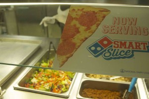 Domino's pizza will be delivered to the school on Mondays, Wednesdays, and Fridays for student purchase in the Italian line.