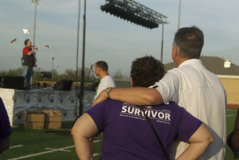 Survivors and people in the fight were invited to Relay for Life to experience it on Friday, April 11, 2014.