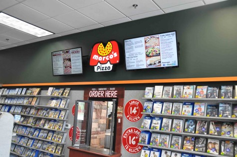 Family Video customers now have the option of also getting pizza, seeing that they've joined forces and offer both services.